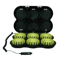 PowerFlare PF-200R Tactical Beacon IR LED Rechargeable Kit, Pack of 6 w/ Charger