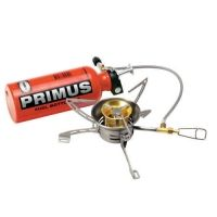 Primus OmniFuel All-Fuel Stove with Windscreen and .6L Fuel Bottle