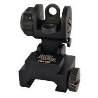 Pro Mag M16/AR15 A2 Flip Up Dual Aperture Rear Sight Black PM137