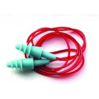 Pyramex Hearing Protection Corded Triple Flange Re-useable Plug- NRR 25db -100 Pair/Box RP2001