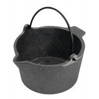 RCBS Cast Iron Lead Pot With Pour Spout 10 Pound Capacity 80010