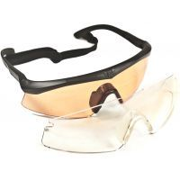 Revision Sawfly Shooter's Kit Deluxe - Sawfly Eyeshield w/ Vermillion, Clear, Solar lenses