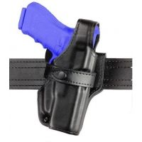 Safariland 070 Duty Holster, SSIII Mid-Ride, Level III Retention - Hi Gloss Black, Right Hand 070-520-91
