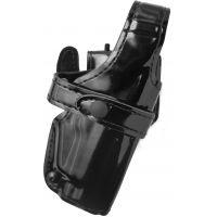 Safariland 070 Duty Holster, SSIII Mid-Ride, Level III Retention - Hi Gloss Black, Right Hand 070-77-91
