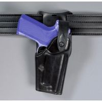 "Safariland 6285 1.50"" Belt Drop, Level II Retention Holster - Cordovan Basketweave, Right Hand 6285-74-071"