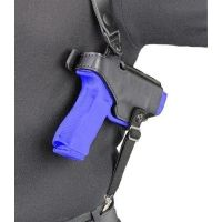 Safariland 1060 Shoulder Holster System - Plain Black, Right Hand 1060-36-1-21