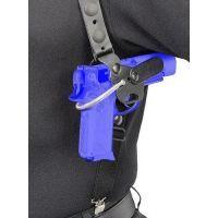 "Safariland 1090 ""Gun Quick"" Shoulder Holster - Plain Black, Ambidextrous 1090-140-2"