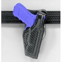 "Safariland 2005 ""Top Gun"" Low-Ride, Level I Retention Holster - Basket Black, Right Hand 2005-78-181"