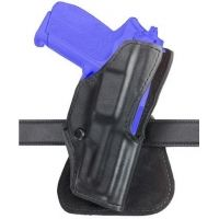 Safariland 5181 Open-Top Paddle Holster - Plain Black, Left Hand 5181-01-62