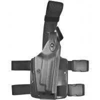 Safariland 6004 SLS Tactical Holster - Tactical Black, Right Hand 6004-77-121
