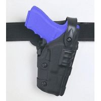 Safariland 6070 Raptor Level IV, Mid-Ride UBL Holster - Basket Black, Right Hand 6070-774-81