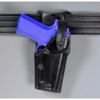 "Safariland 6285 1.50"" Belt Drop, Level II Retention Holster - Hi Gloss Black, Right Hand 6285-1376-91"