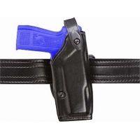 Safariland 6287 Concealment SLS Belt Holster - Plain Black, Left Hand 6287-29111-62
