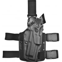 Safariland 6305 ALS Tactical Holster w/ Quick Release Leg Harness - STX TAC Black, Right Hand 6305-73-131