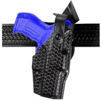 Safariland 6360 ALS Level III w/ Ride UBL Holster - Plain Black, Right Hand 6360-74-61