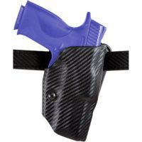 Safariland ALS Belt Holster - STX Plain Black, Left 6377-185-412