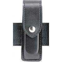 Safariland 76 Single Handgun Magazine Pouch - Hi Gloss Black, Ambidextrous 76-383-9HS