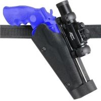 "Safariland 002 ""Cup Challenge"" Competition Holster - Carbon Fiber Look Black, Left Hand 002-09-652"