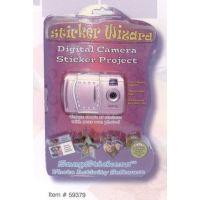 Sakar Kids Sticker Wizard Digital Camera Kit w/ SnapSticker Software 59379