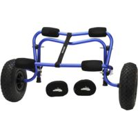Seattle Sports Deluxe Center Cart Blue