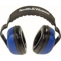 Silencio Blue Earmuffs w/Smith & Wesson Logo 3012157