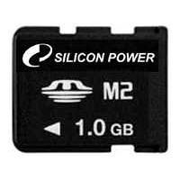 Silicon Power Memory Stick Micro M2 Memory Card - 1GB SP001GBM2C000V10