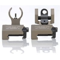Troy Micro BattleSight Front & Rear Weapon Sight Set