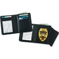 Strong Leather Company Deluxe Single Id Badge Wallet 1082