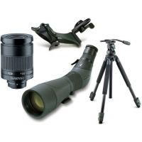 Swarovski ATS65 HD Angled Spotting Scope Digiscoping Kit w/ DCB-A Digital Camera Base & Tripod