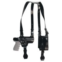 Tagua Gunleather Full Slide Shoulder Holster S&W J Frame 2.1 Inch Right Hand Black SH4-710