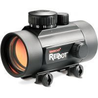 Tasco Red Dot 1x42mm 5 MOA Matte Rifle Scope BKRD42