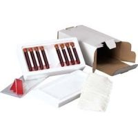 Tegrant Thermosafe ThermoSafe Diagnostic Mailers, Thermosafe Brands 476 3-Tube System Foam Unit Only