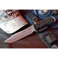 """Tops Knives Apache Dawn 12"""" Fixed Blade Knife"""