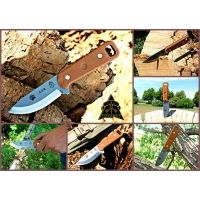Tops Knives CUB Fixed Blade Knife,3.75in