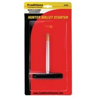 Traditions Hunter Bullet Starter And Ramrod With Palm-Saver Handle .45 Caliber And Up A1335
