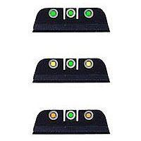 Trijicon H&K 3 Dot USP Front & Rear Night Sight Set