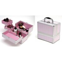 TZ Case Pink Beauty Collection AB63 Small Make-Up Kit Beauty Case