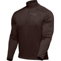 Under Armour Men's ColdGear Hundo Fleece 1/4 Zip - Timber Color 1006260-241
