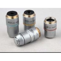 UNICO 40X Din Semi-plan Objective, N.a. 0.65, Retractable Front Lens B6-2203