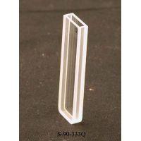 UNICO Quartz Rectangular Spectrophotometer Cuvette, 2 mm pathlength, 0.7 ml capacity UV-Vis, each