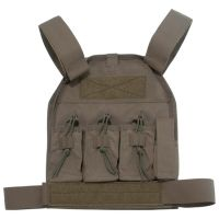 US Palm AR-15 Defender Soft Armor Plate Carrier With One Level IIIA Soft Armor Panel Large/Standard 10x12.5 Inch Panel Ranger Green USP00400339