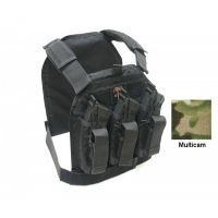 US Palm Defender - Large with 1 Soft IIIa Armor Panel - AK47