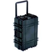 UnderWater Kinetic 1122 Transit Case with Wheels, Black