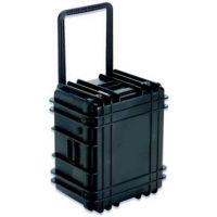 UW Kinetics 1422 Transit Case Dry Box with Wheels, Black