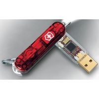 Victorinox Flash Drive - Victorinox SwissFlash Flight USB Swiss Army Flash Drives Ruby