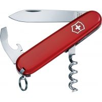 Victorinox Waiter Swiss Army Knife Red