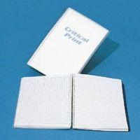 VWR Critical Print Cleanroom Combination Notebooks P1114-11CG 51/2 x 81/2