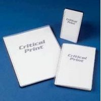 VWR Critical Print Cleanroom Spiral Notebooks P1114-11G Engineering Grid Notebooks 51/2 x 81/2