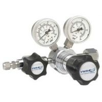 VWR High-Purity Single-Stage Gas Regulators, Stainless Steel 3001156