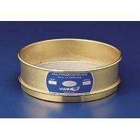 VWR Testing Sieves, 12 Brass Frame, Stainless Steel Wire Cloth 100BS12H Half Height